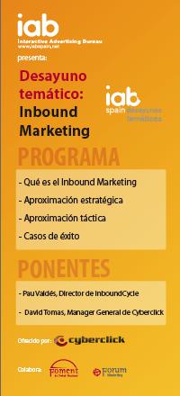 Inbound Marketing en el IAB - Las Presentaciones | Inbound Marketing