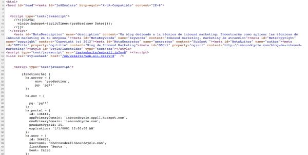 google tag manager codigo html