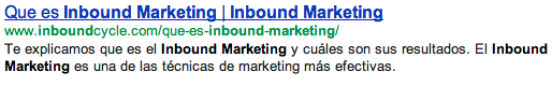 seo on page title