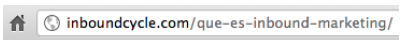 optimizar url