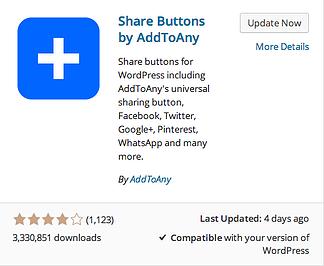 Share Buttons plugin