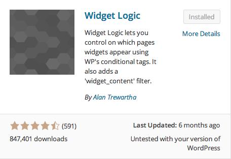 Widget Logic