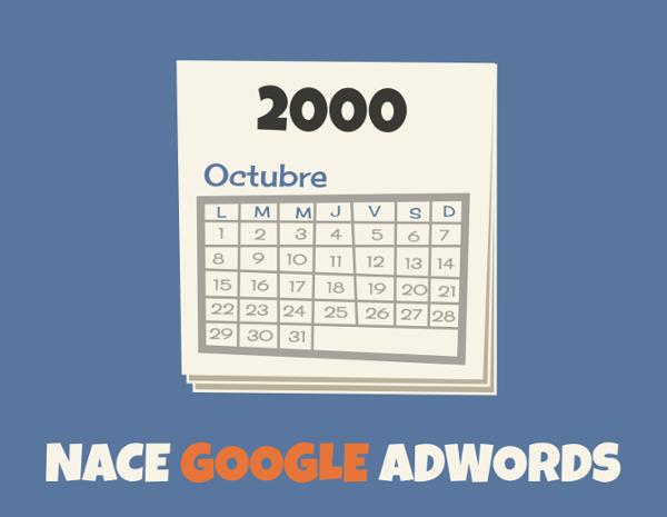 nacimiento google adwords