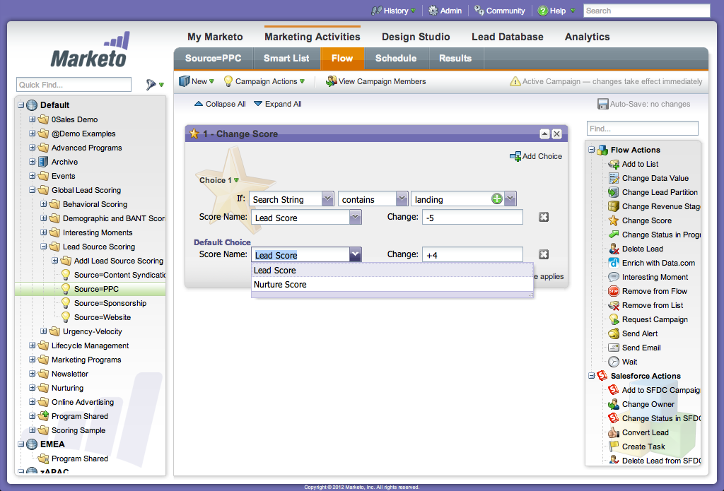 analisis de ventas marketo