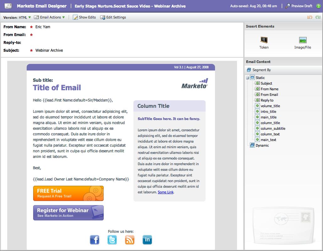 email marketing marketo