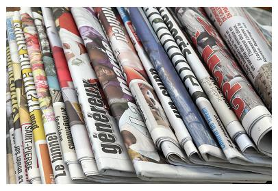 Medios en papel versus medios online en el 2014
