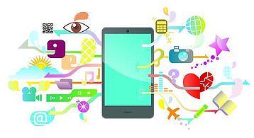 Redes sociales y dispositivos móviles en el 2014: campanadas de boda