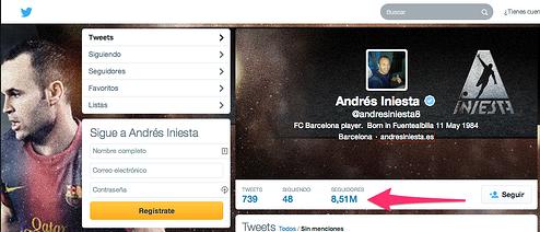 Andrés Iniesta  andresiniesta8  en Twitter y Screencast O Matic