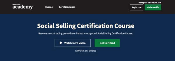 13. Social Selling Certification Course de Hootsuite Academy