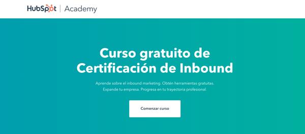 2. Certificación Inbound de HubSpot Academy