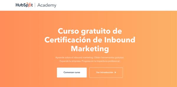 3. Certificación Inbound Marketing de HubSpot Academy
