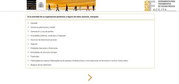 programa agencia española proteccion datos adaptacion nuevas exigencias marketing online