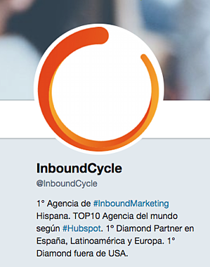 biografia twitter con keywords