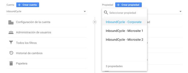 configurar google analytics para multisites 10
