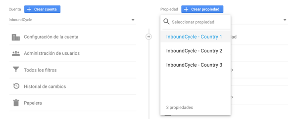 configurar google analytics para multisites 11