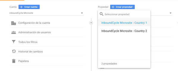 configurar google analytics para multisites 2