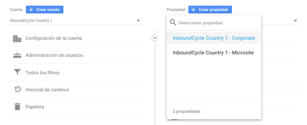 configurar google analytics para multisites 5