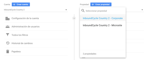 configurar google analytics para multisites 6