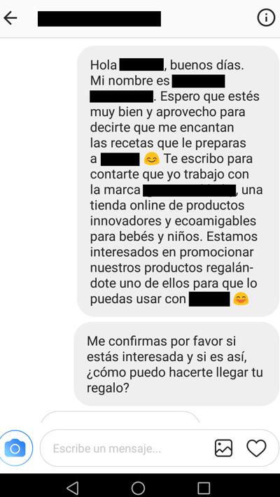 conversacion micro influencer instagram