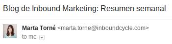 ejemplo sender email