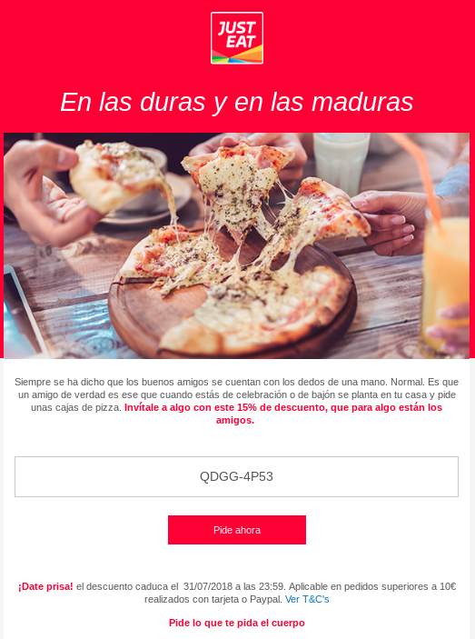sindrome MOFO email just eat