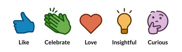 engagement en redes sociales reacciones linkedin