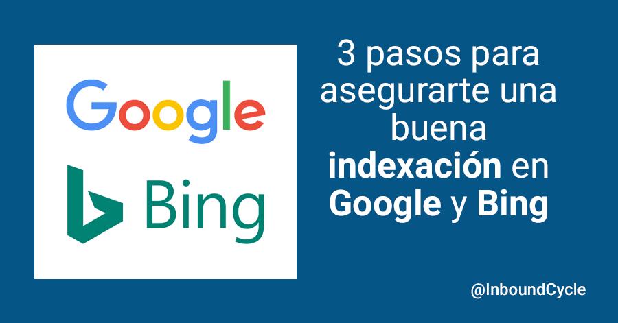 cómo indexar en google y bing