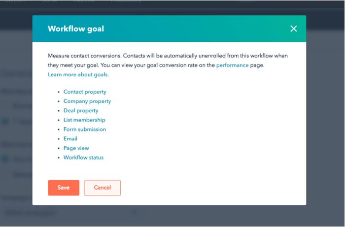 objetivo workflow hubspot