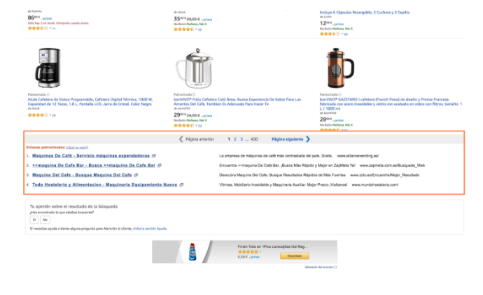 ppc amazon enlaces patrocinados