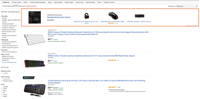 ppc amazon headers