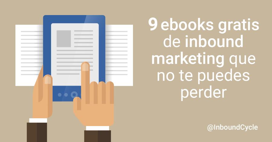9 ebooks inbound marketing