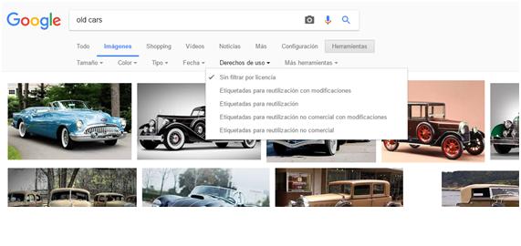 imagenes libres de derechos coches google