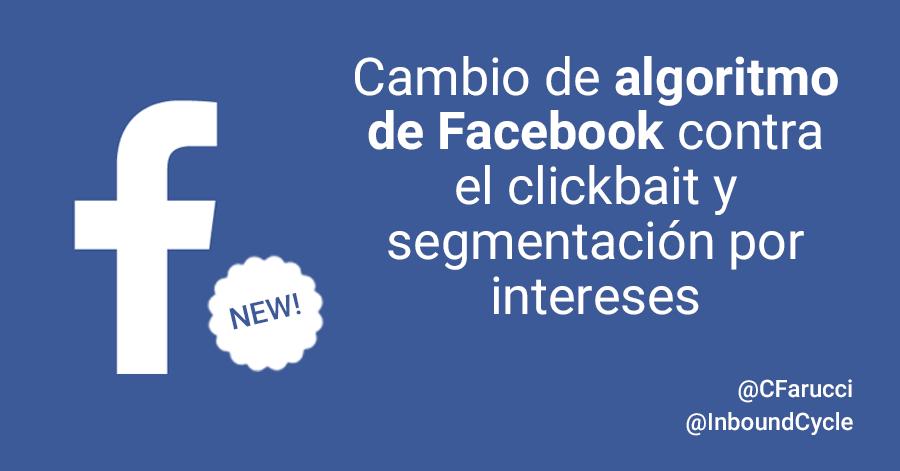 cambio de algoritmo de facebook edgerank