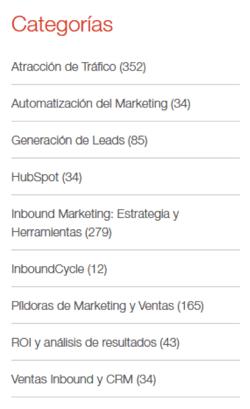 enlaces internos categorias blog