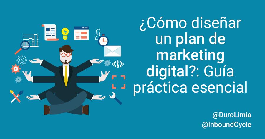 como crear un plan de marketing online