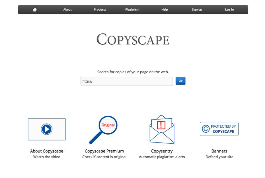 copyscape contenido copiado