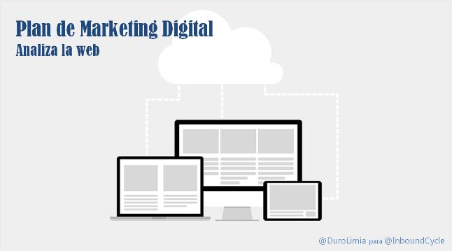plan de marketing digital analisis web