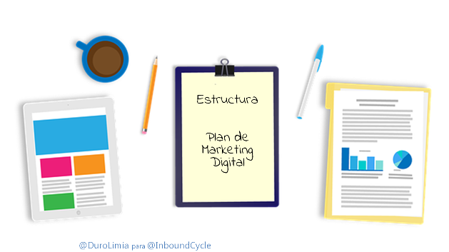 plan de marketing digital estructura