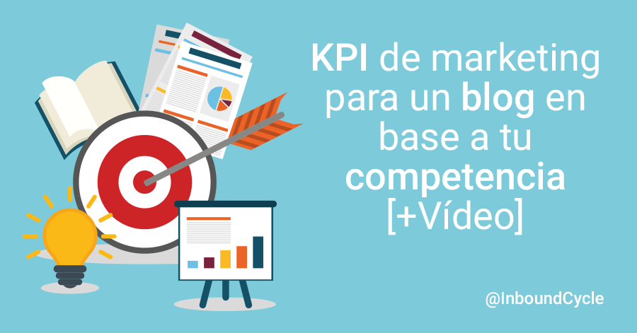 kpi de marketing para blog en base a competencia