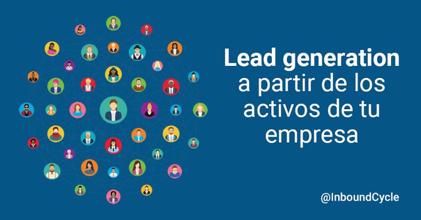 lead generation a partir activos empresa