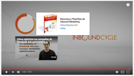 pantalla final youtube con link centro de recursos