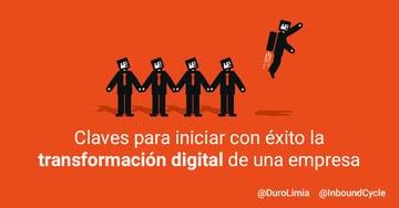 Transformación digital: 7 retos a tener en cuenta para afrontarla con éxito