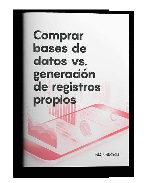 ebook comprar bases de datos vs generacion registros propios