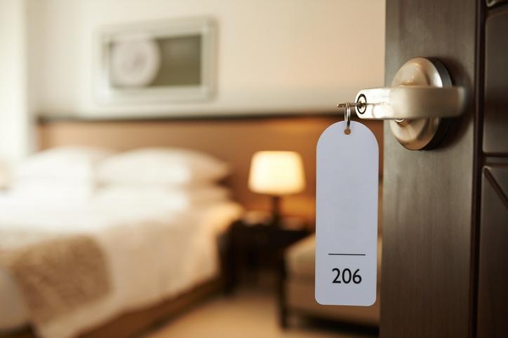 habitacion de un hotel