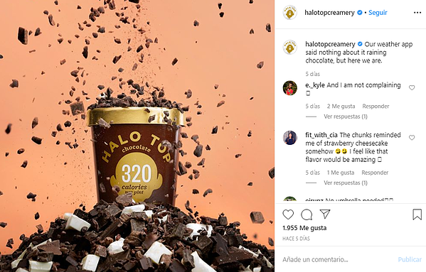 Estrategia de Marketing visual-Halo Pop Instagram
