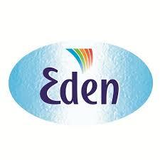logotipo agua eden
