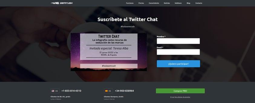landing-page-twitter-chat-semrush