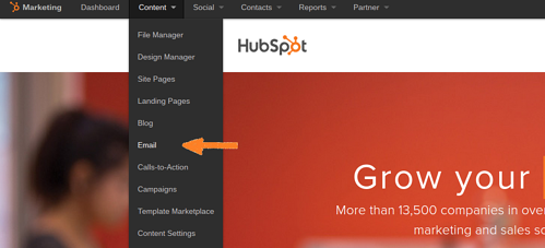 tests-A/B-email-Hubspot