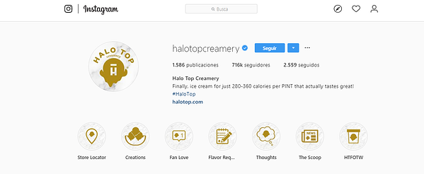 Estrategia de Marketing visual-Halo Top bio