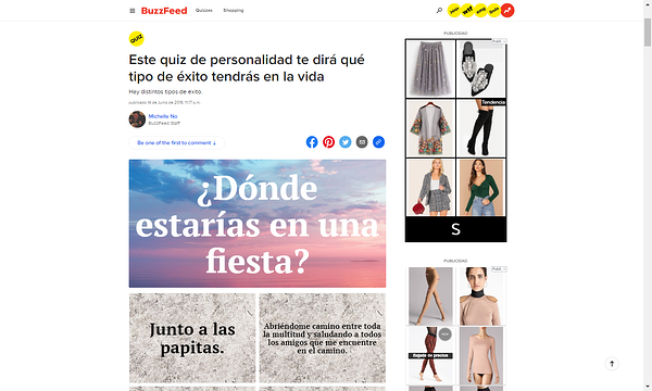 Estrategia de Marketing visual-BuzzFeed